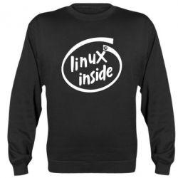 Реглан (свитшот) Linux Inside - FatLine