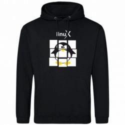 Толстовка Linux pinguine - FatLine