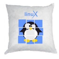 Подушка Linux pinguine - FatLine