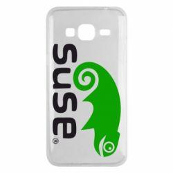 Чехол для Samsung J3 2016 Linux Suse