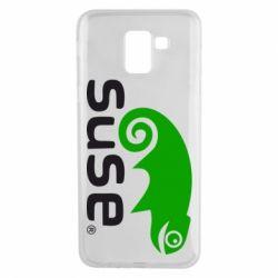 Чехол для Samsung J6 Linux Suse