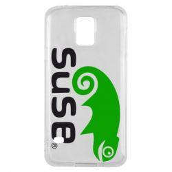 Чехол для Samsung S5 Linux Suse