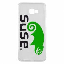 Чехол для Samsung J4 Plus 2018 Linux Suse