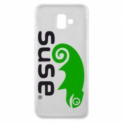 Чехол для Samsung J6 Plus 2018 Linux Suse