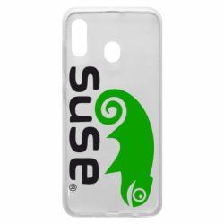 Чехол для Samsung A20 Linux Suse