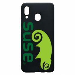 Чехол для Samsung A30 Linux Suse