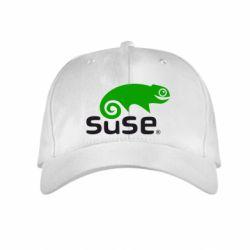 Детская кепка Linux Suse - FatLine