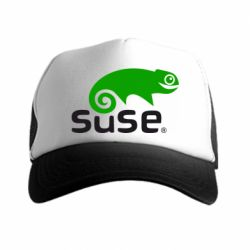 Кепка-тракер Linux Suse - FatLine