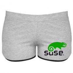 Женские шорты Linux Suse - FatLine
