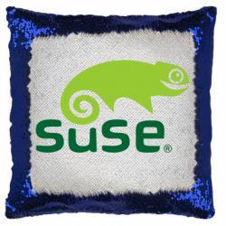 Подушка-хамелеон Linux Suse