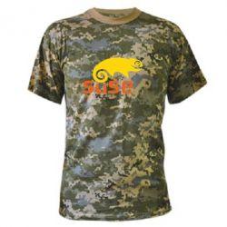 Камуфляжная футболка Linux Suse - FatLine