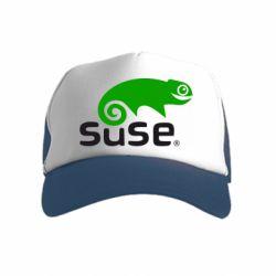 Детская кепка-тракер Linux Suse