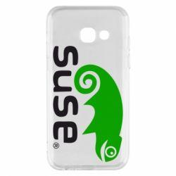 Чехол для Samsung A3 2017 Linux Suse