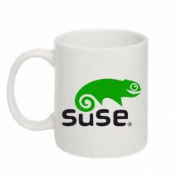 Кружка 320ml Linux Suse - FatLine