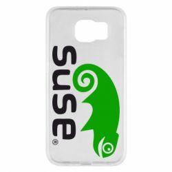 Чехол для Samsung S6 Linux Suse