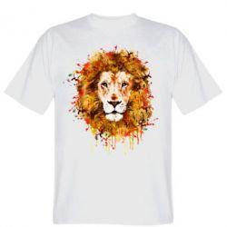 Мужская футболка Lion Art - FatLine