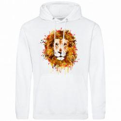 Мужская толстовка Lion Art - FatLine