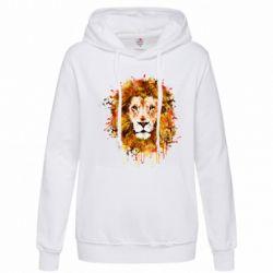 Женская толстовка Lion Art - FatLine