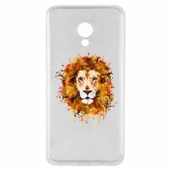 Чохол для Meizu M5 Lion Art - FatLine