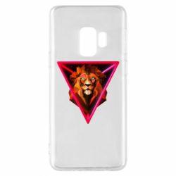Чохол для Samsung S9 Lion art