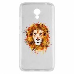 Чохол для Meizu M5c Lion Art - FatLine