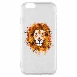 Чохол для iPhone 6/6S Lion Art - FatLine