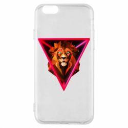 Чохол для iPhone 6/6S Lion art