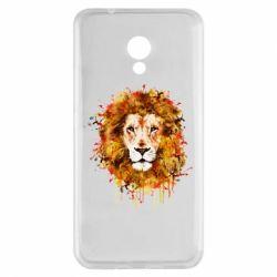 Чохол для Meizu M5s Lion Art - FatLine