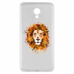 Чохол для Meizu M5 Note Lion Art - FatLine