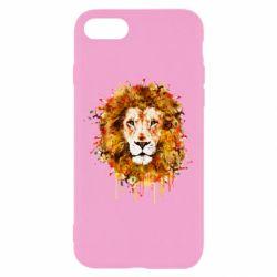 Чохол для iPhone 7 Lion Art - FatLine