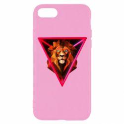 Чохол для iPhone 7 Lion art