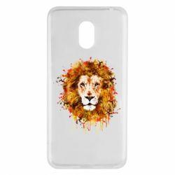 Чохол для Meizu M6 Lion Art - FatLine