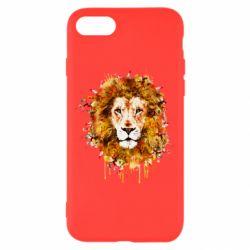 Чохол для iPhone 8 Lion Art - FatLine