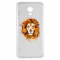 Чохол для Meizu M6s Lion Art - FatLine