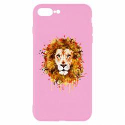 Чохол для iPhone 8 Plus Lion Art - FatLine