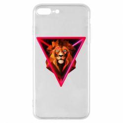 Чохол для iPhone 8 Plus Lion art