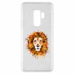 Чохол для Samsung S9+ Lion Art - FatLine