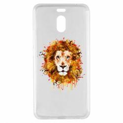 Чохол для Meizu M6 Note Lion Art - FatLine