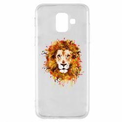 Чохол для Samsung A6 2018 Lion Art - FatLine