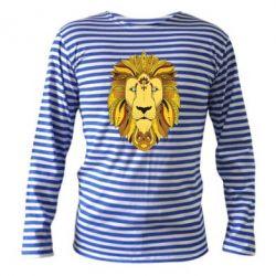 Тельняшка с длинным рукавом Lion art