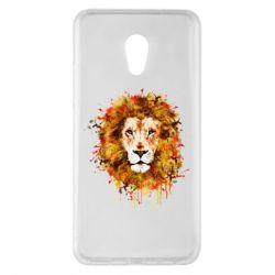 Чохол для Meizu Pro 6 Plus Lion Art - FatLine