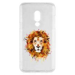 Чохол для Meizu 15 Lion Art - FatLine