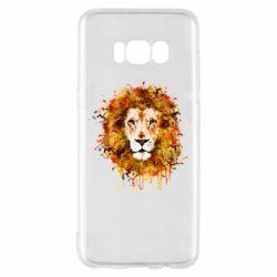Чохол для Samsung S8 Lion Art - FatLine