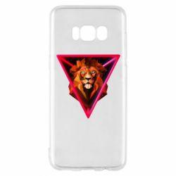 Чохол для Samsung S8 Lion art