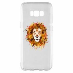 Чохол для Samsung S8+ Lion Art - FatLine