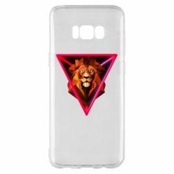 Чохол для Samsung S8+ Lion art