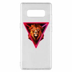 Чохол для Samsung Note 8 Lion art