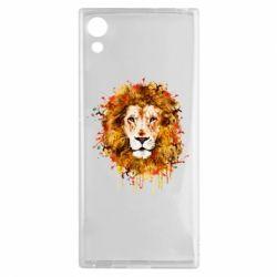 Чохол для Sony Xperia XA1 Lion Art - FatLine