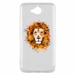 Чохол для Huawei Y6 Pro 2018 Lion Art - FatLine