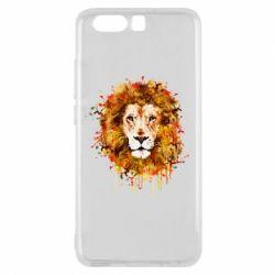Чохол для Huawei P10 Lion Art - FatLine